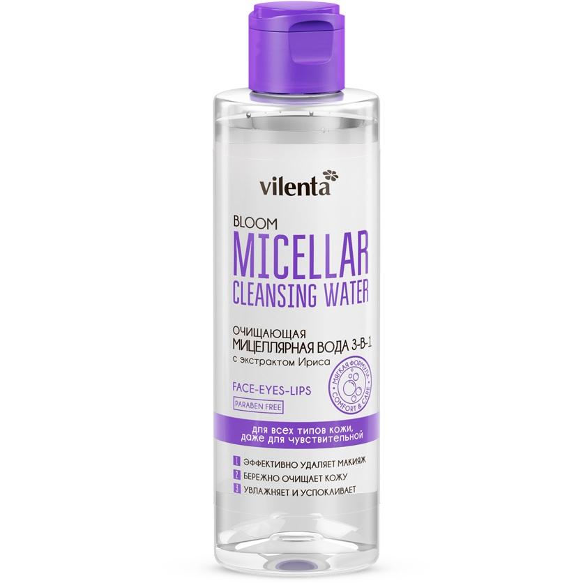 Купить Vilenta Bloom Вода мицеллярная для снятия макияжа 200мл