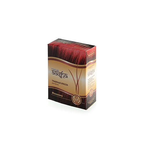 Купить Aasha Травяная краска для волос Махагони 60мл