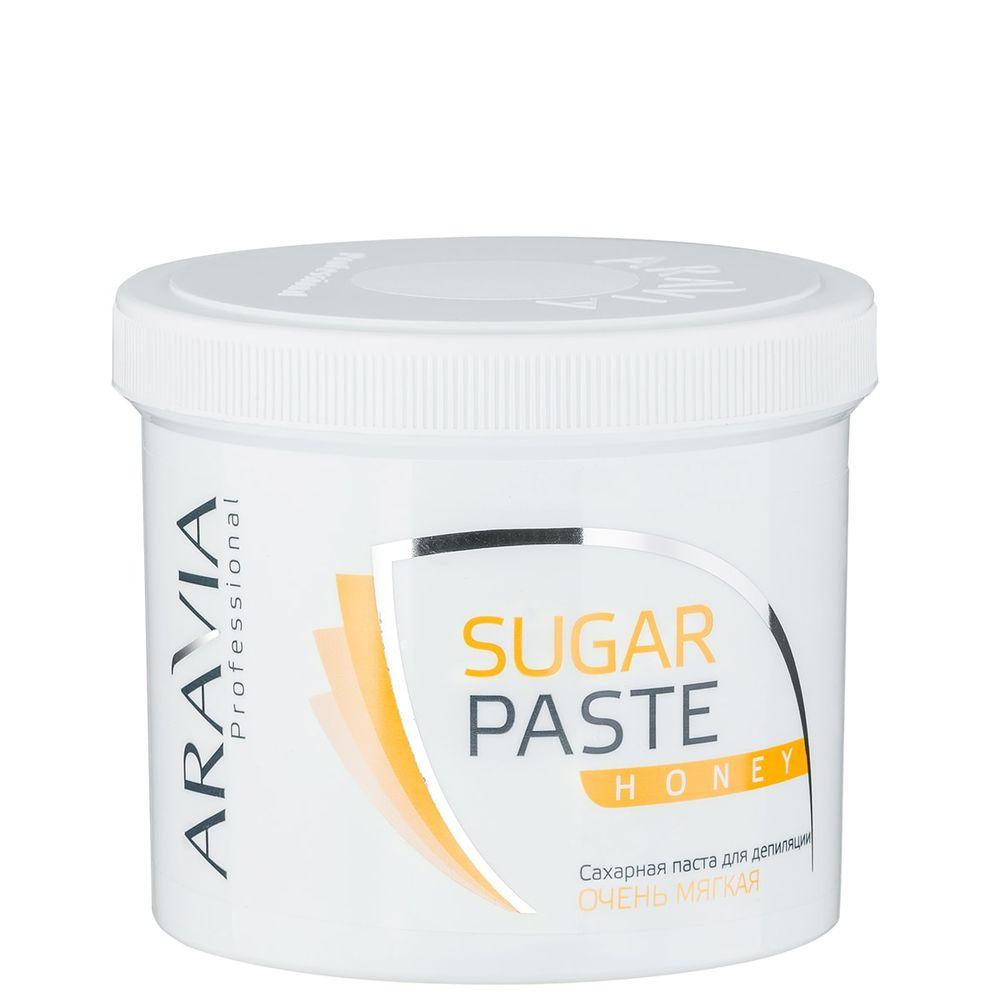 Aravia Professional Паста сахарная для депиляции Медовая очень мягкой консистенции 750г