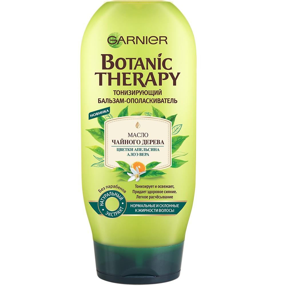 Купить Гарньер (Garnier) Botanic Therapy Бальзам Масло чайного дерева/цветки апельсина/алоэ вера 200 мл