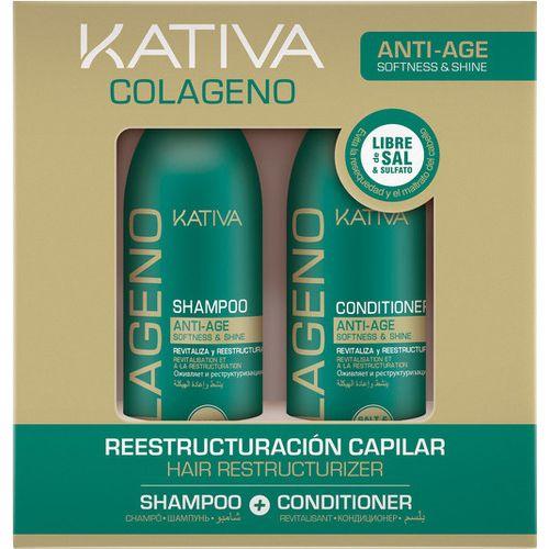 Kativa Collageno набор коллагеновый шампунь+кондиционер 2х100мл