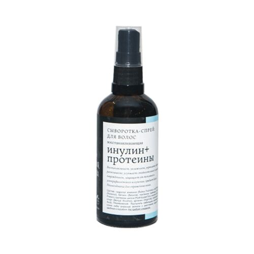 Краснополянская косметика Сыворотка-спрей для волос Инулин+протеины 100мл