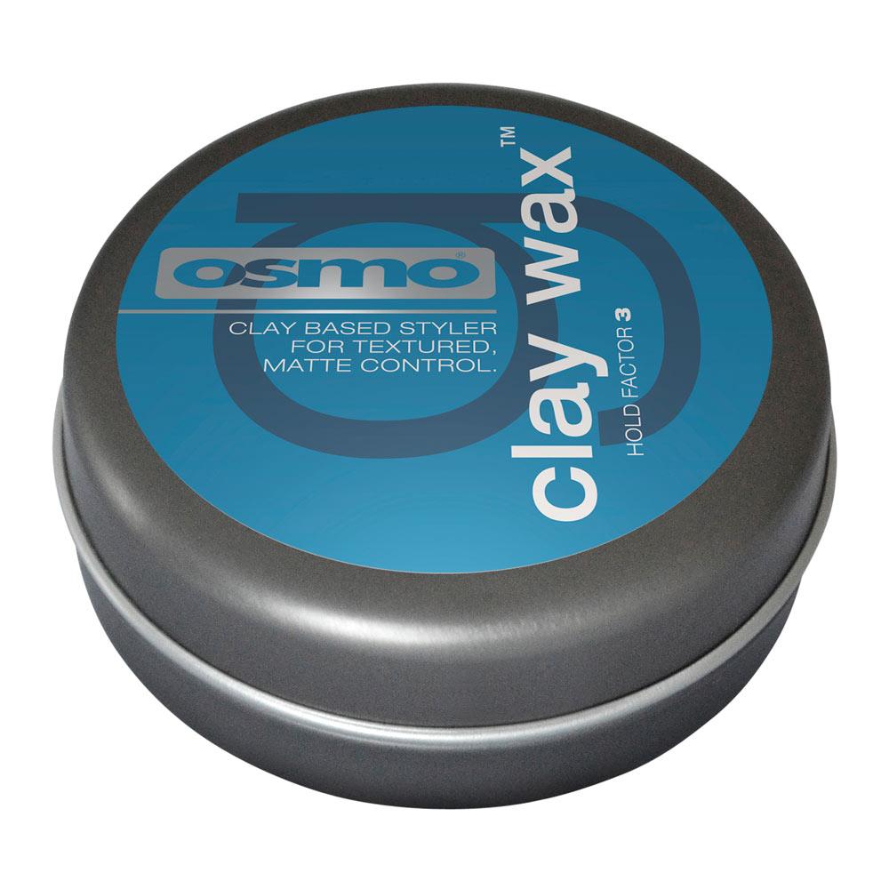 Osmo Clay Wax Глина-воск для текстурирования волос с матовым эффектом, степень фиксации 4 25мл