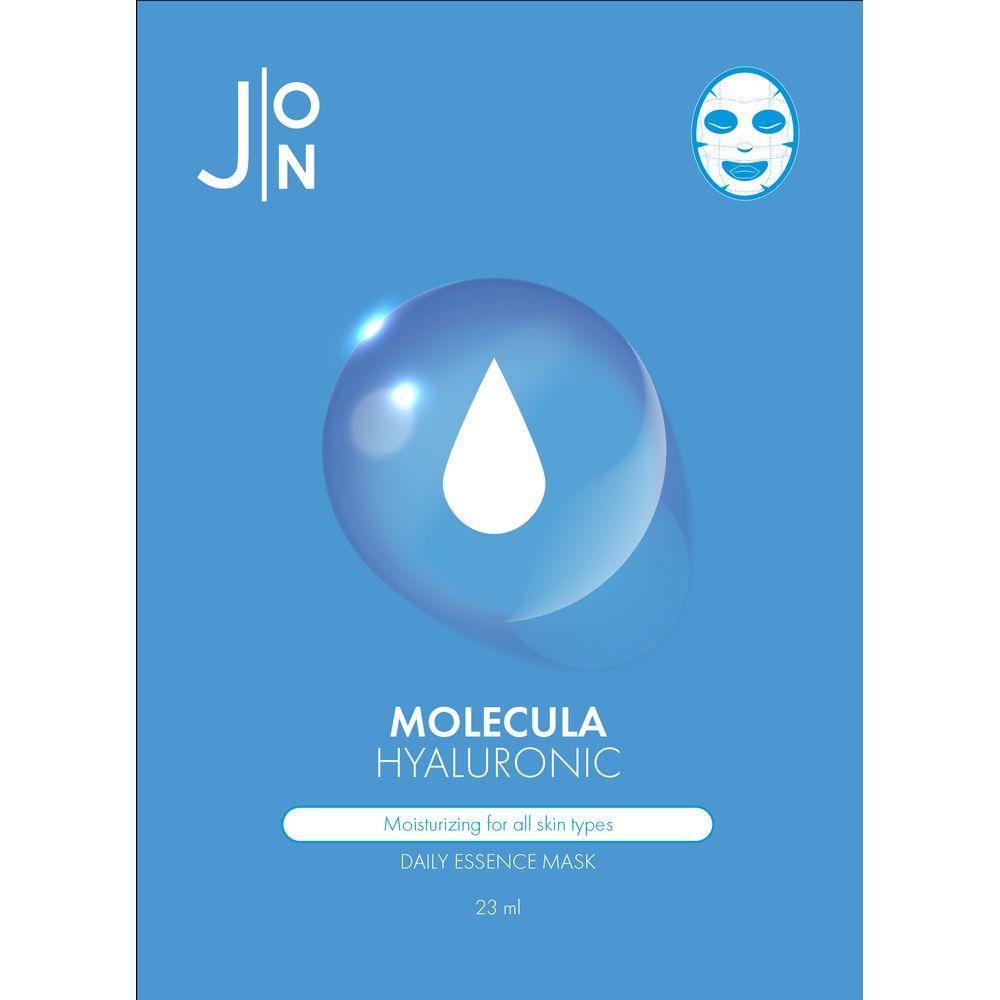 Купить J:ON Маска тканевая для лица Гиалуроновая кислота Molecula Hyaluronic Daily Essence Mask 23мл N10