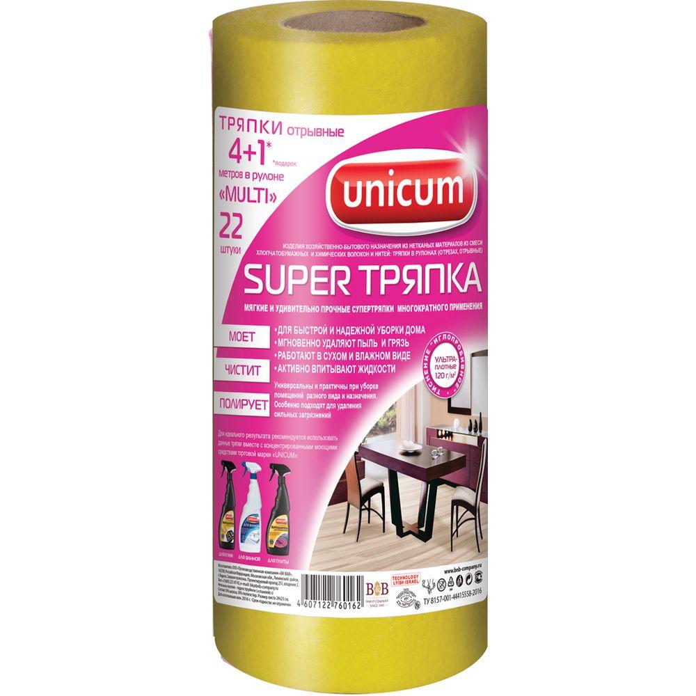 Unicum Супер тряпка универсальная 4+1м в рулоне фото