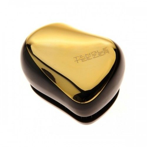 Tangle teezer compact styler bronze chrome золото расческа для волос