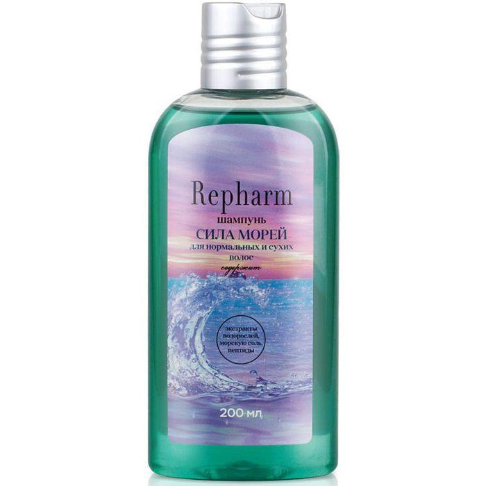 Купить Repharm шампунь сила морей для нормальных и сухих волос 200мл, Рефарм