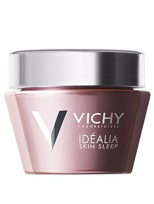Vichy (Виши) Идеалия Скин Слип Ночой восстанавливающий легкий бальзам для всех типов кожи 50 мл