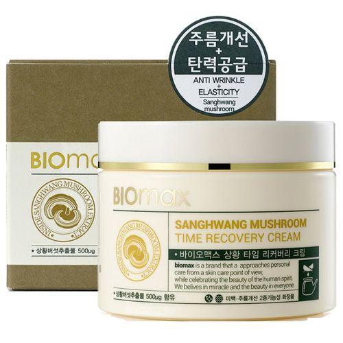 BIOmax Антивозрастной крем с экстрактом гриба санхван 100мл.