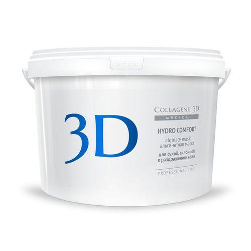 Купить Коллаген 3Д HYDRO COMFORT Альгинатная маска для лица и тела с экстрактом алое вера 1200 г, Collagene 3D