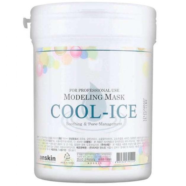Anskin Cool-Ice Modeling Mask Маска альгинатная с охлаждающим и успокаивающим эффектом 1000 мл