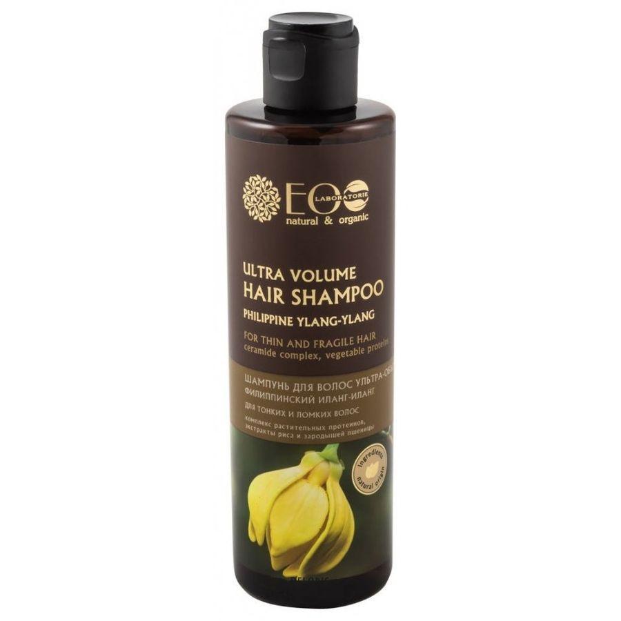 Ecolab Шампунь ультра объем для тонких и ломких волос 250мл фото
