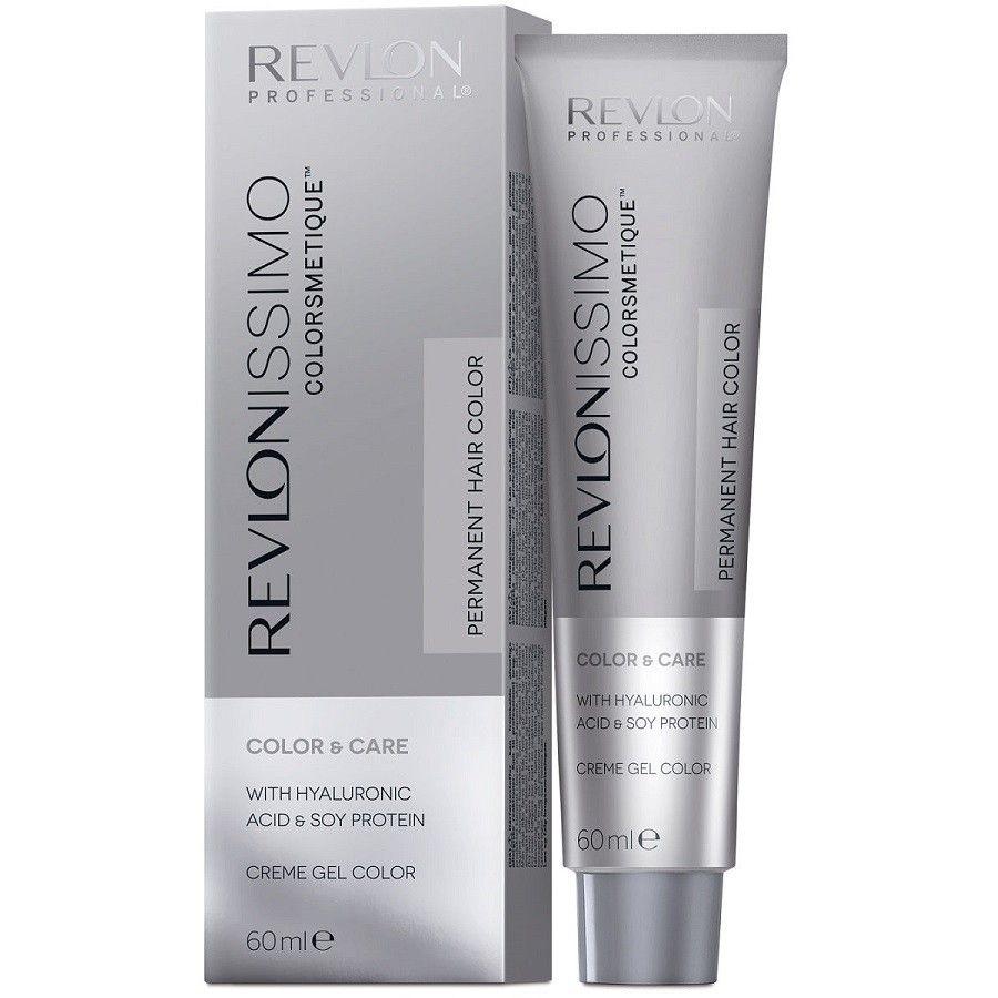 Купить Revlon Краска для волос Revlonissimo Colorsmetique 7.12 Блондин Пепельно-Переливающийся 60мл