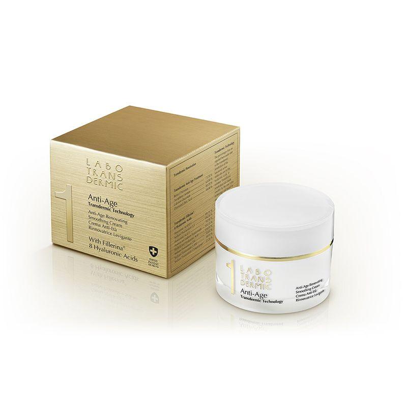 Купить Labo Трансдермик 1 Anti-age крем для лица антивозрастной восстанавливающий разглаживающий 50мл
