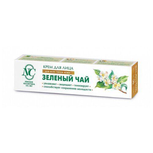 Купить Невская косметика Крем для лица ЗЕЛЕНЫЙ ЧАЙ Защитный для всех типов кожи 40мл