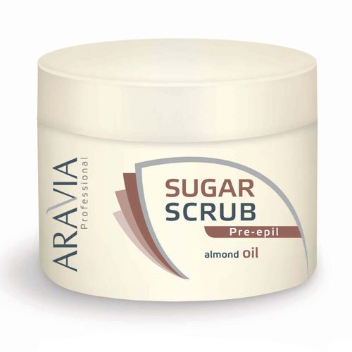 Aravia сахарный скраб с маслом миндаля 300мл