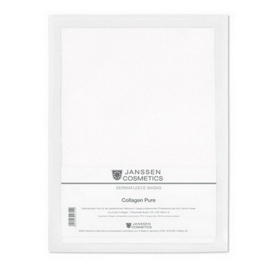 Купить Янсен (Janssen) Коллаген чистый белый 1 лист