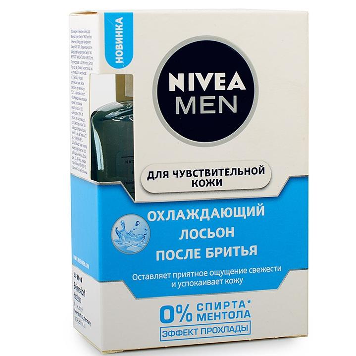 Нивея для мужчин Лосьон после бритья для чувствительной кожи Охлаждающий 100мл