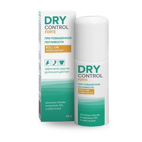 Купить Драй контрол форте ролик антиперспирант от обильного потоотделения 20% 50мл, DRY Control