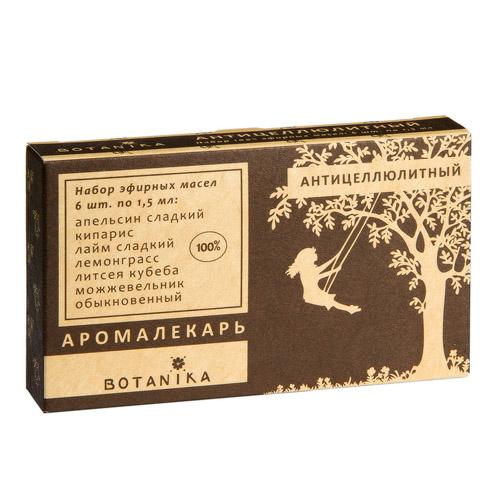 Botavikos Набор 100% эфирных масел Антицеллюлитный 9мл  - Купить