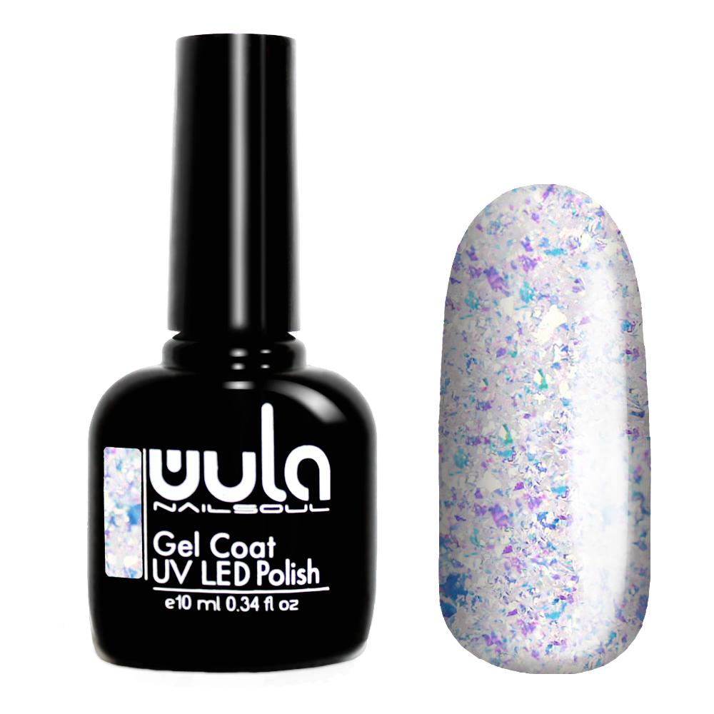 Купить Wula nailsoul опаловое гель лаковое покрытие 10мл Opal gel coat тон 439 изумрудное великолепие