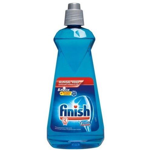 Finish Блеск + Экспресс сушка Ополаскиватель для посуды в посудомоечных машинах 400мл фото