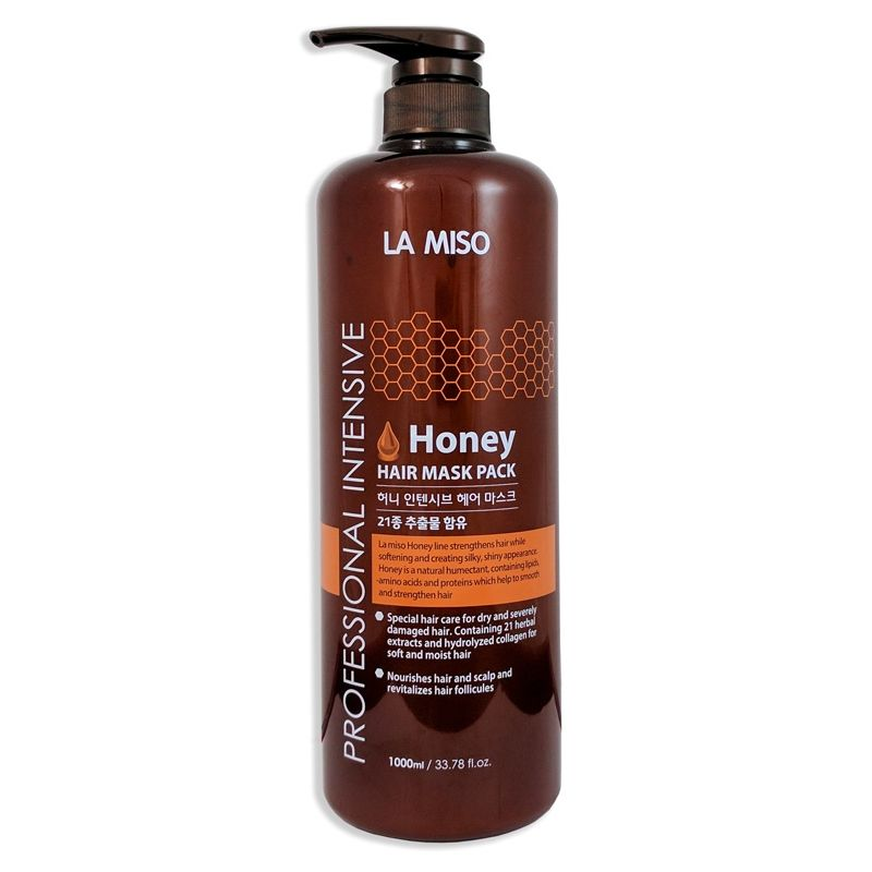 La miso professional intensive honey hair mask маска