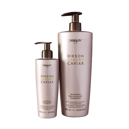Купить Dikson LUXURY CAVIAR Интенсивный ревитализирующий шампунь с Complexe Caviar 300 мл