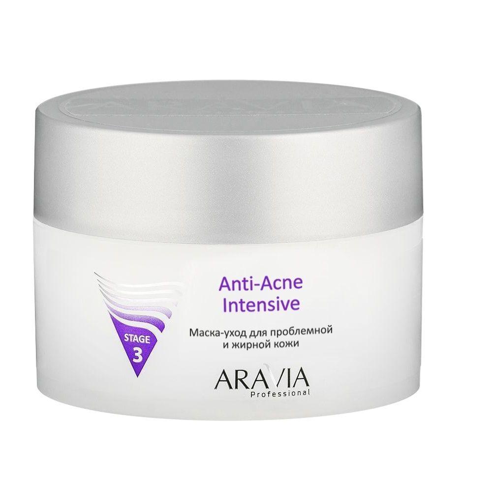 Купить Aravia Маска-уход для проблемной и жирной кожи Anti-Acne Intensive 150мл, Aravia Professional