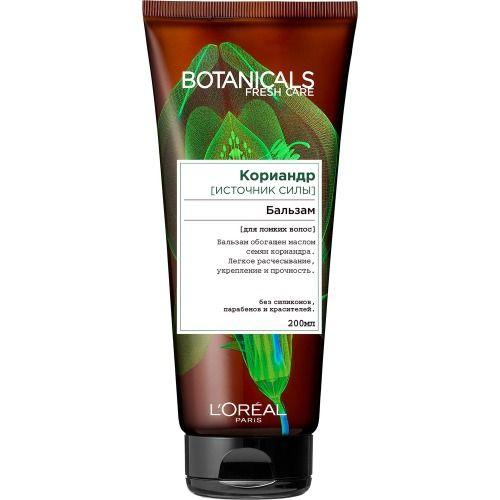 Купить Loreal Botanicals Coriander Бальзам для повреждённых волос 200мл, Loreal Paris