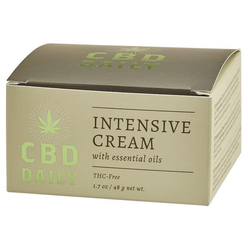 CBD Интенсивный крем с Коноплей для ежедневного применения 48г, CBD Daily  - Купить