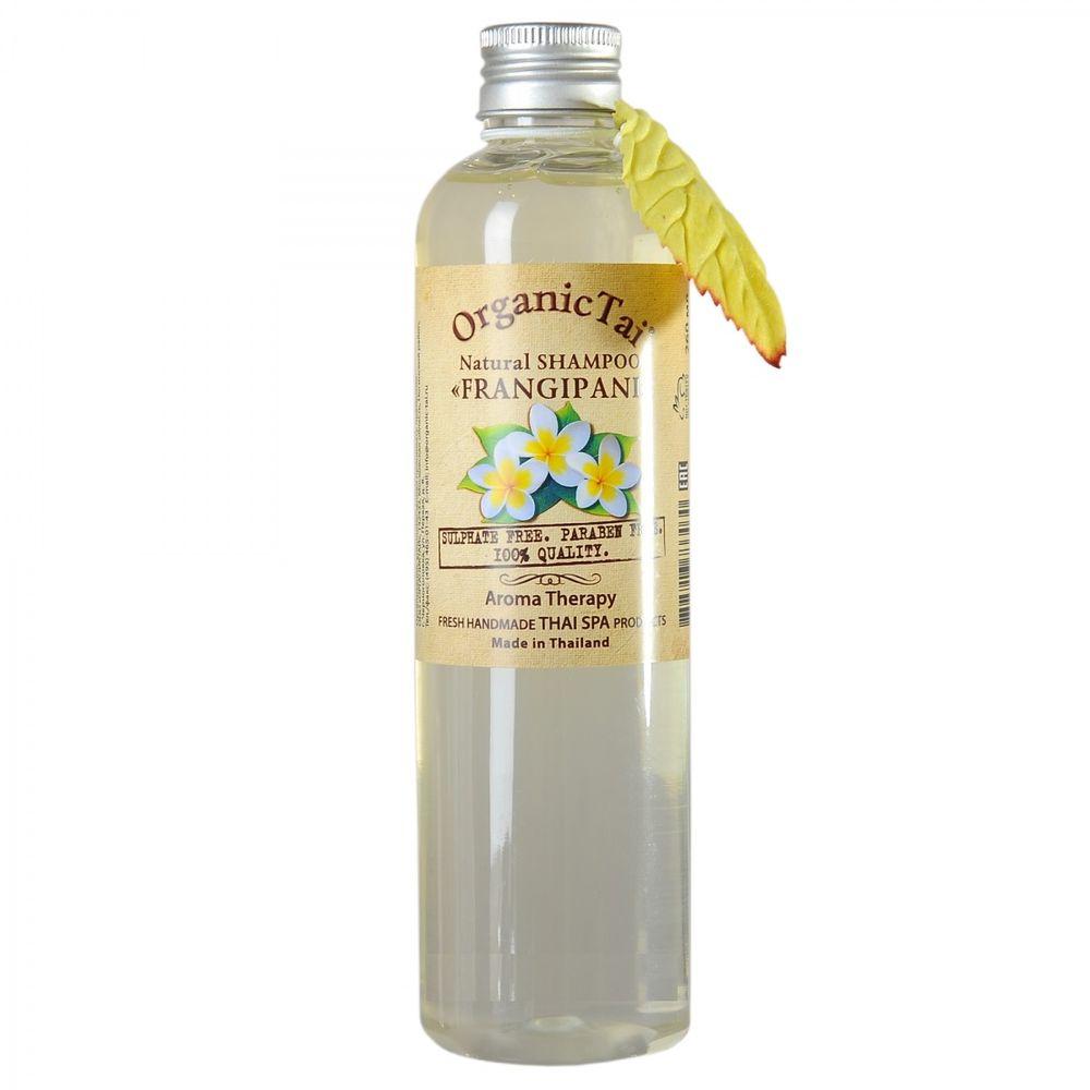 Купить OrganicTai Натуральный шампунь для волос ФРАНЖИПАНИ 260 мл