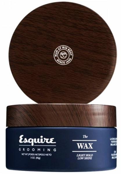 Купить Esquire (Эсквайр) Воск для волос слабой степени фиксации, легкий блеск 85 г