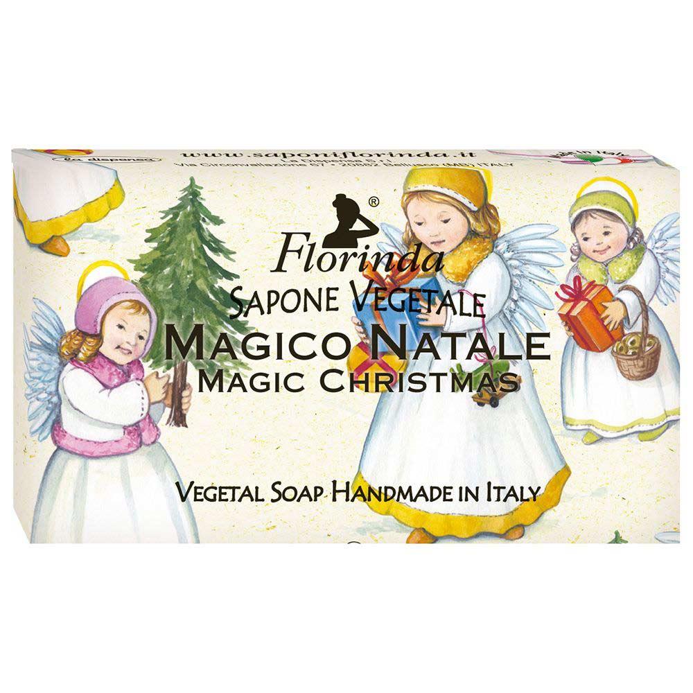 Florinda мыло Счастливого Рождества Magico Natale Магия Рождества 100г