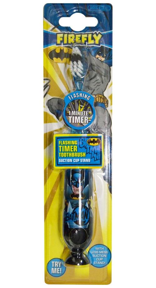 Купить Batman FIREFLY Детская зубная щетка с таймером-подсветкой на присоске