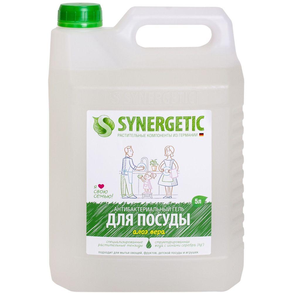 Synergetic Средство для мытья посуды Алоэ 5000 мл
