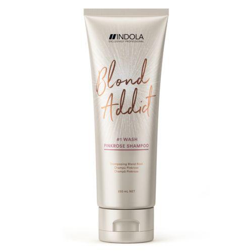 Купить Indola Blond Addict Оттеночный шампунь Pinkrose 250мл, Indola Professional