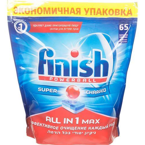 Finish All in1 Max Средство для мытья посуды в посудомоечных машинах таблетки 65шт от Лаборатория Здоровья и Красоты