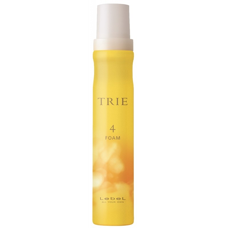 Lebel Trie Foam 4 Пена для укладки волос 200мл