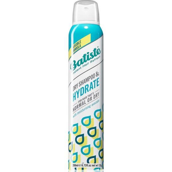 Купить Batiste сухой шампунь HYDRATE увлажняющий для нормальных и сухих волос 200мл