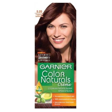 Купить Garnier (Гарньер) Color Naturals крем-краска для волос №5.25 Горячий шоколад