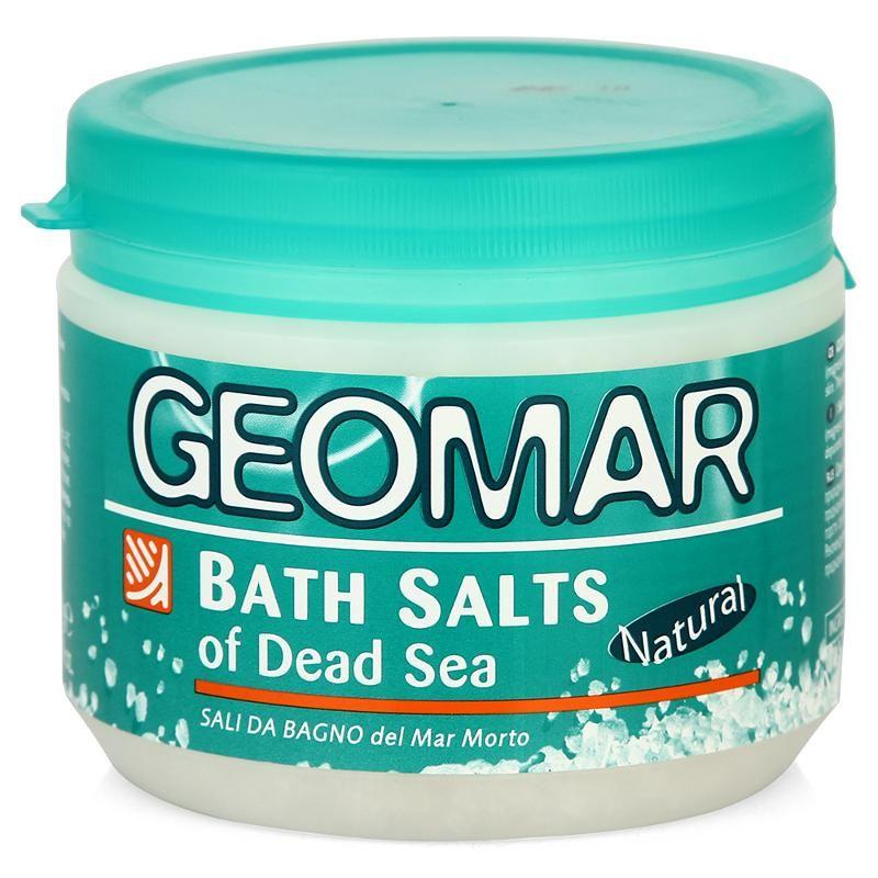 Geomar Соль Мертвого моря для принятия ванн 500г от Лаборатория Здоровья и Красоты