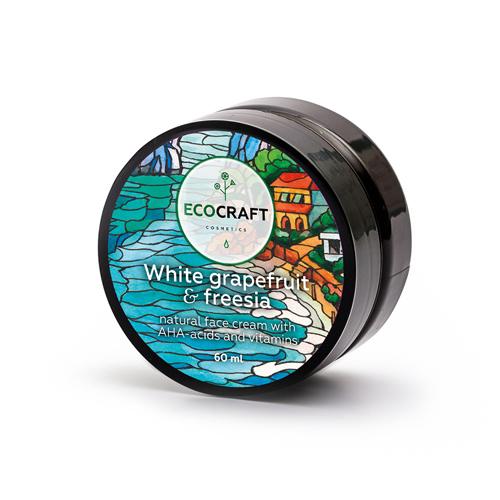 Купить Ecocraft Крем для лица Белый грейпфрут и фрезия, для жирной кожи 60 мл