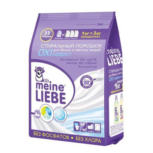 Майн Либе/MEINE LIEBE порошок стиральный для белых тканей OXI эффект концентрата 1кг от Лаборатория Здоровья и Красоты