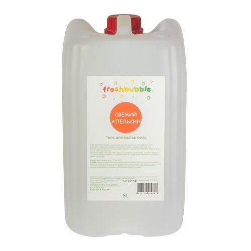 Freshbubble Гель для мытья полов Свежий Апельсин 5000мл  - Купить