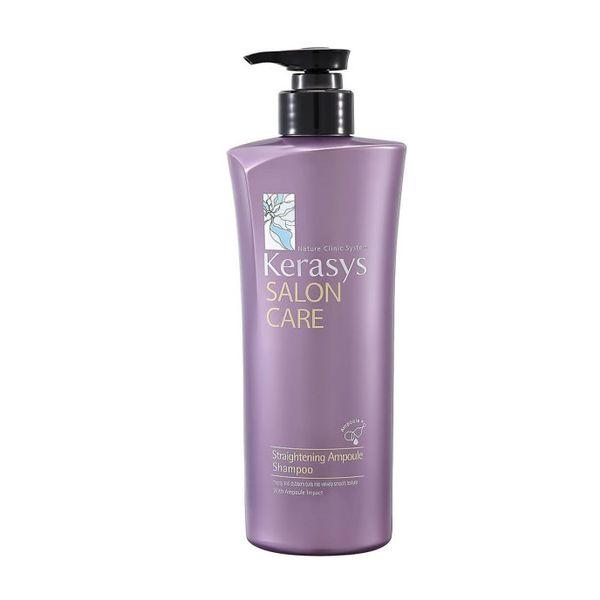 Керасис (KeraSys) Шампунь для волос Ампульный Salon Care Гладкость и блеск 470 ml