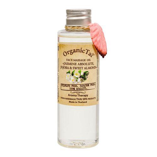 Купить OrganicTai Масло массажное для лица Жасмин жожоба и сладкий миндаль 120мл