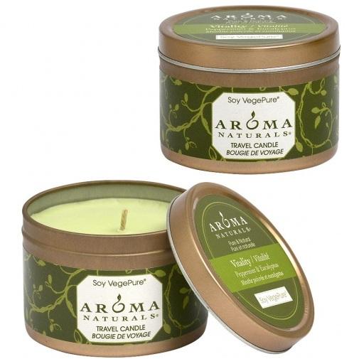 Купить Aroma Naturals Свеча Оживление 80 г банка