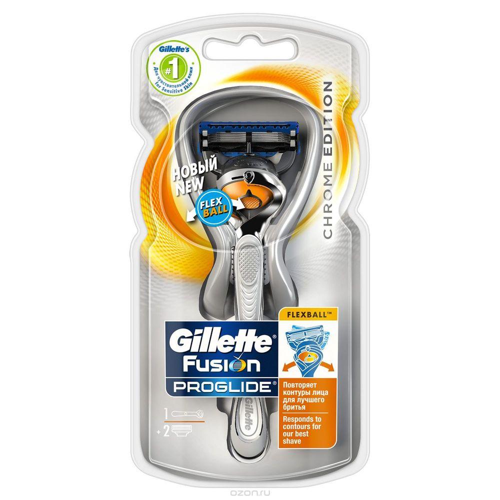 Купить Gillette Fusion ProGlide FlexBall станок +1 сменная кассета