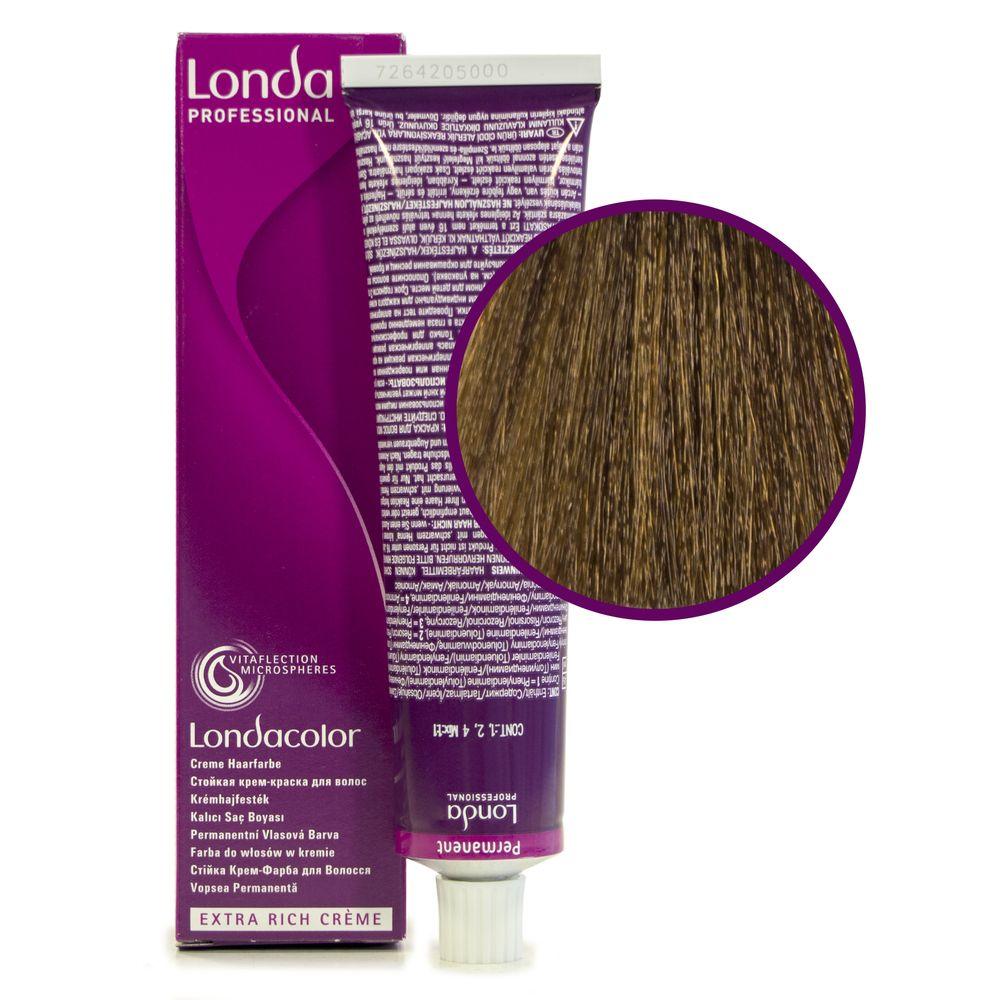 Londa Color 7/7 блонд коричневый стойкая крем-краска 60мл LONDA PROFESSIONAL